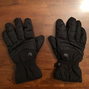 Gordini black snow gloves